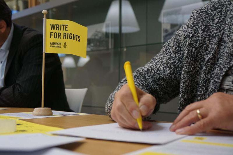 Noorderkerk steunt schrijfactie